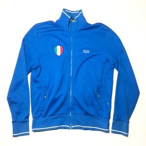 Hugo Boss Italy Football Full Zip Track Jacket